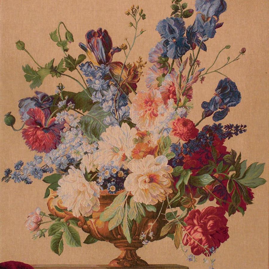 Tapisserie bouquet Iris