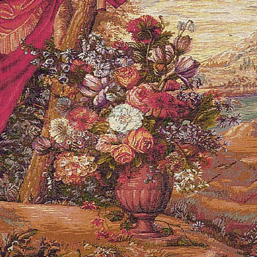 Tapestry Bouquet au drapé (without human representation)