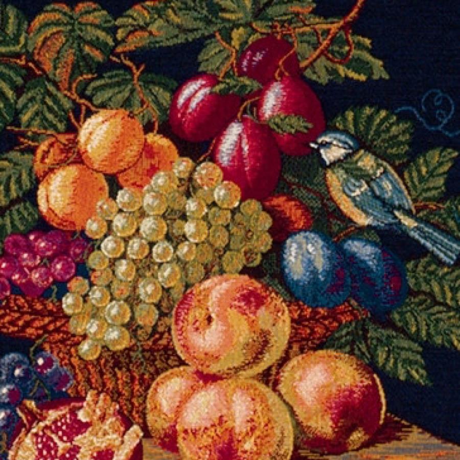 Tapestry the chickadee