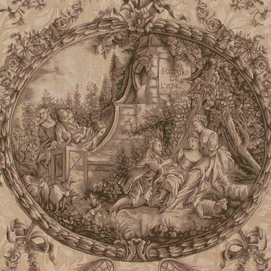 Tapestry Fontaine de l'amour