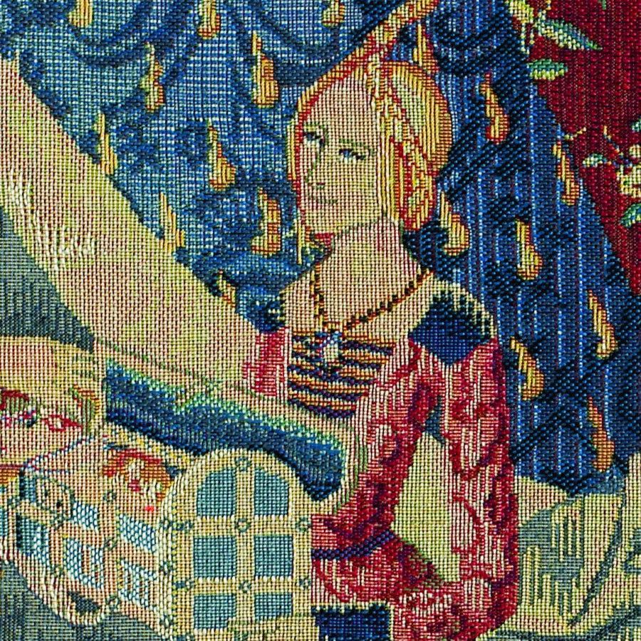 Tapestry Girl in the box