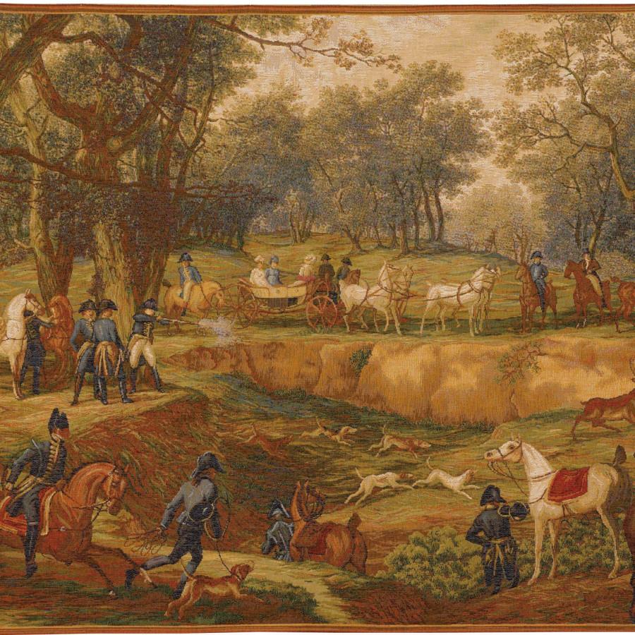 Tapestry Napoleonian Hunt