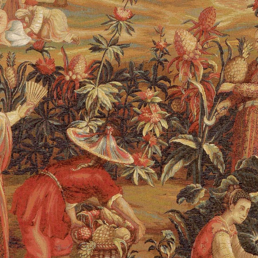 La récolte des ananas