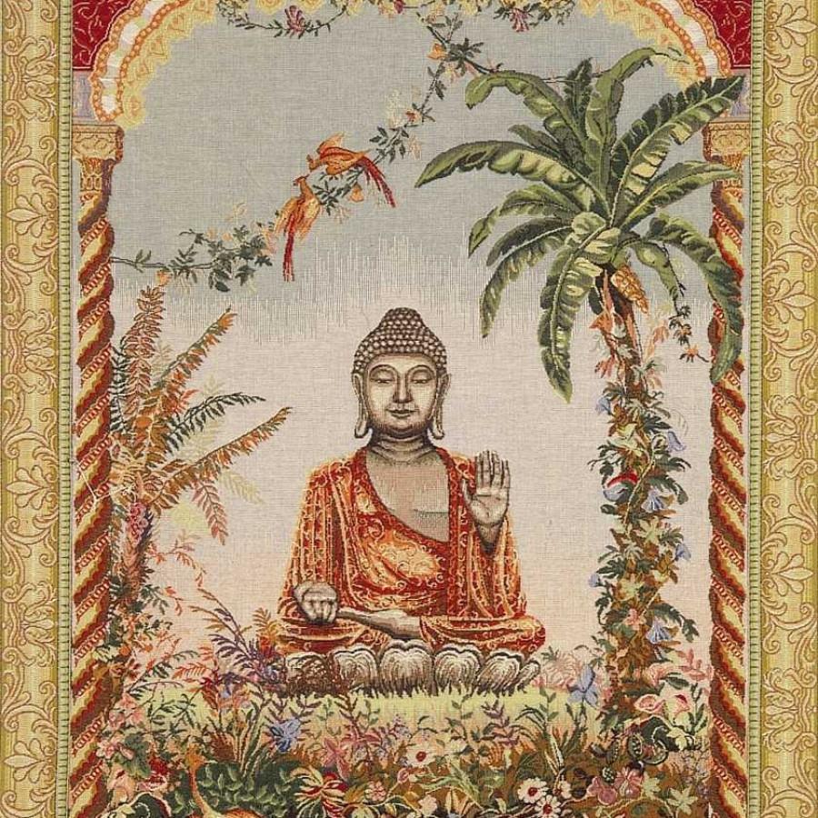 Tapestry Bouddha