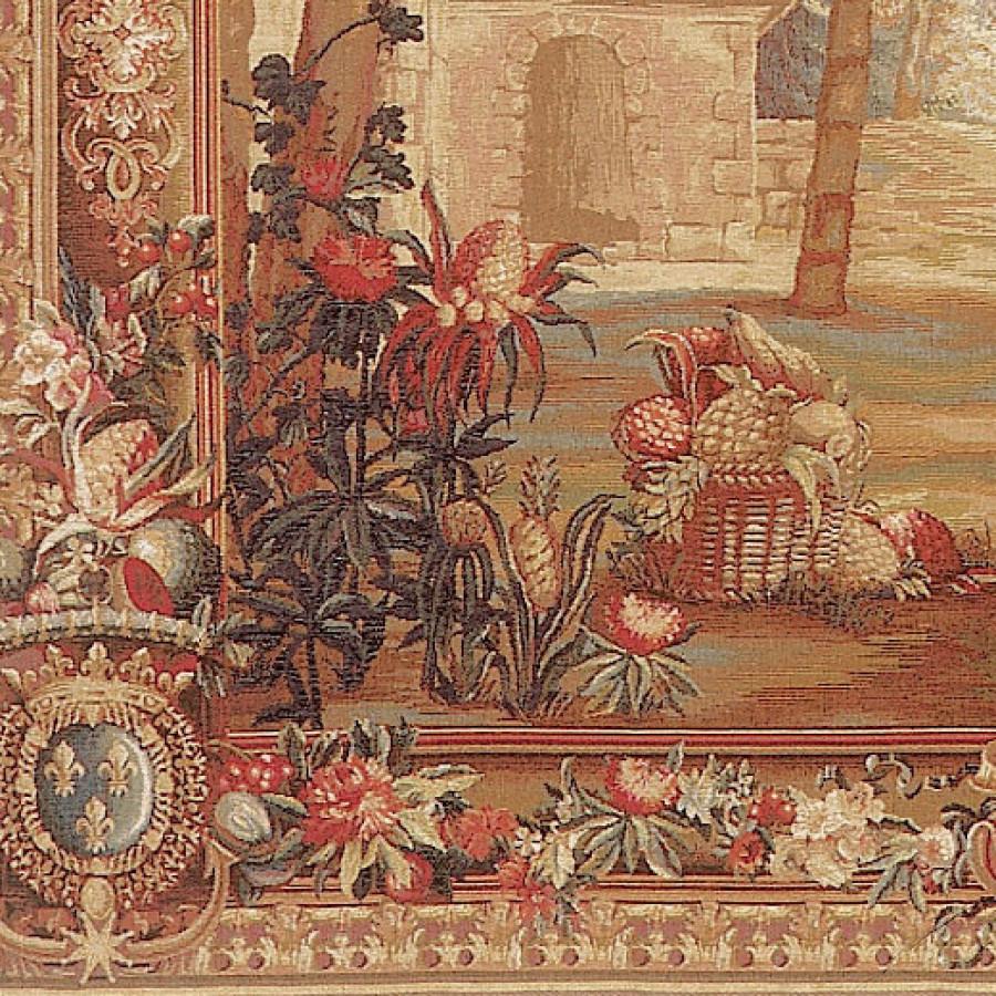 Tapestry La récolte des ananas - exotic landscape
