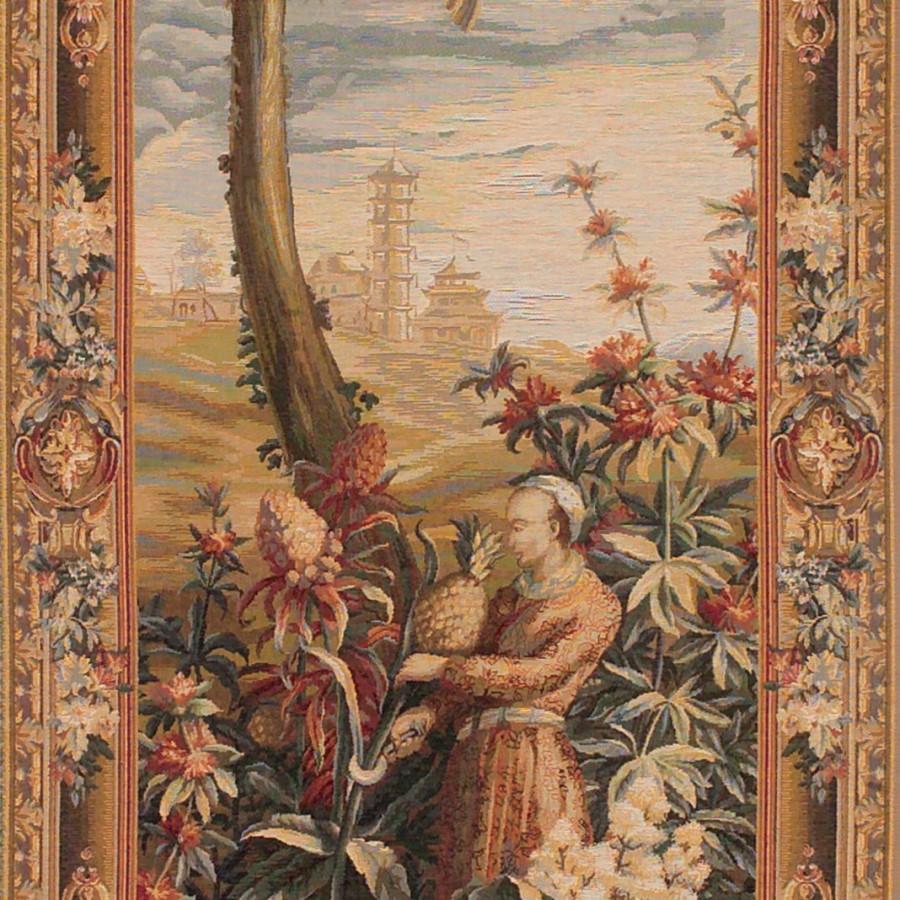 Tapestry La récolte des ananas - right door