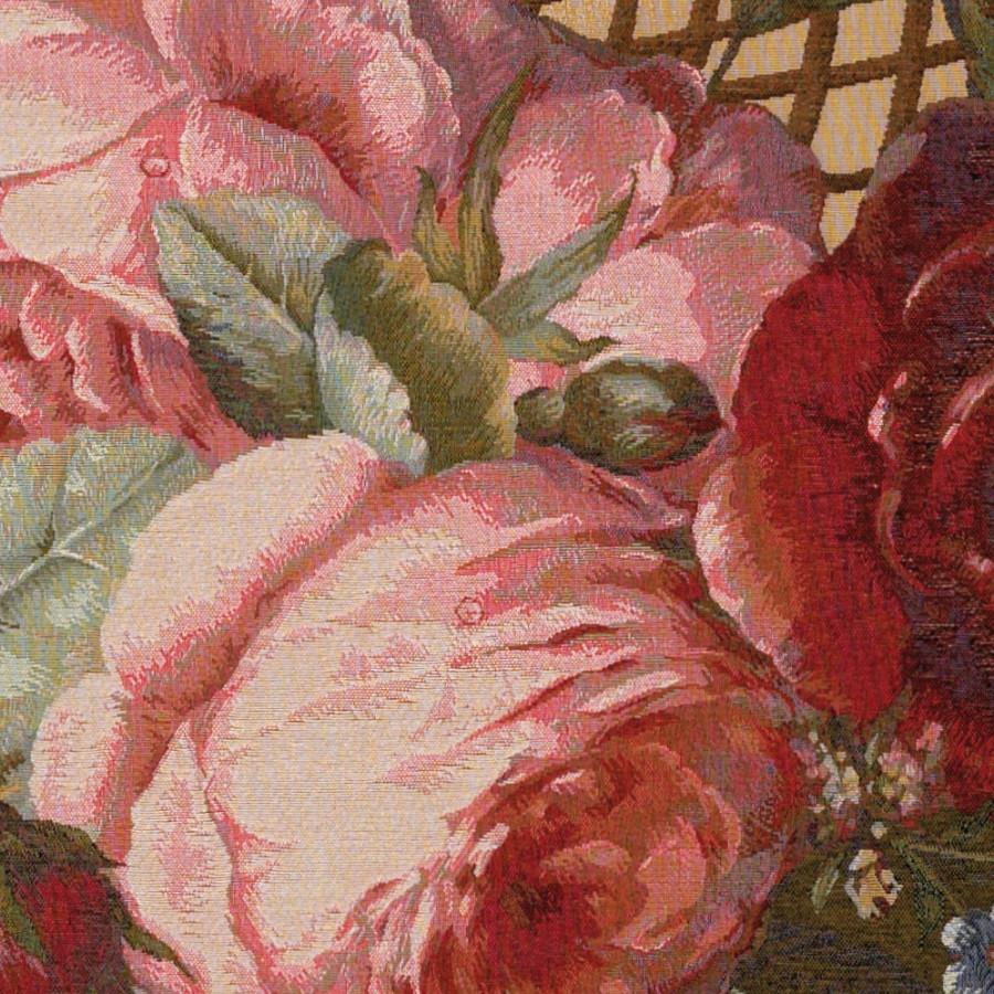 Tapisserie bouquets soie