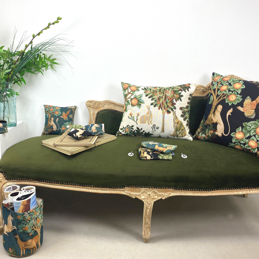 Tapestry cushion cover Fantasy forest
