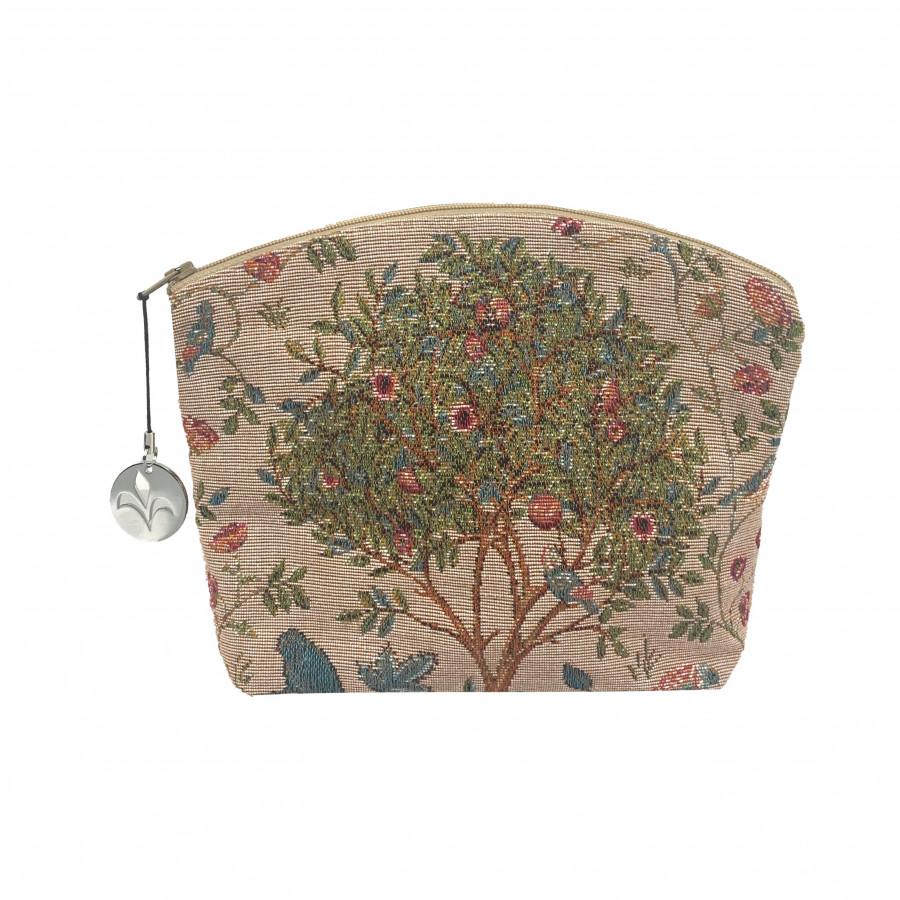 Tapestry cosmetic bag Kelmscott Tree
