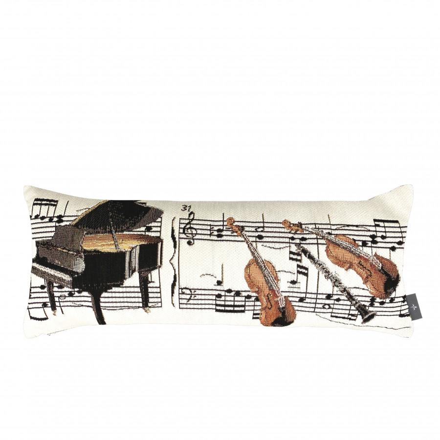 Housse de coussin La musique