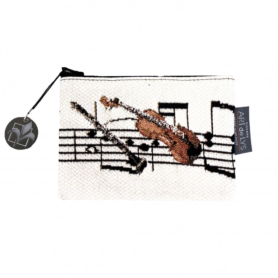 Tapestry purse Music