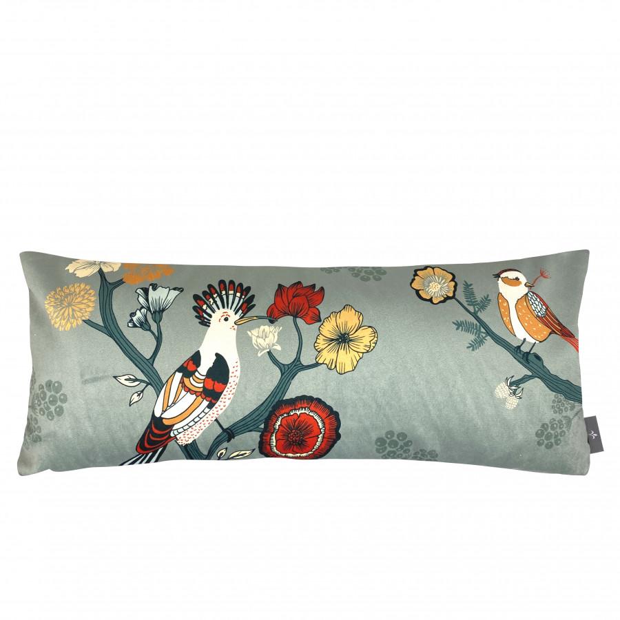 Printed cushion cover Birds