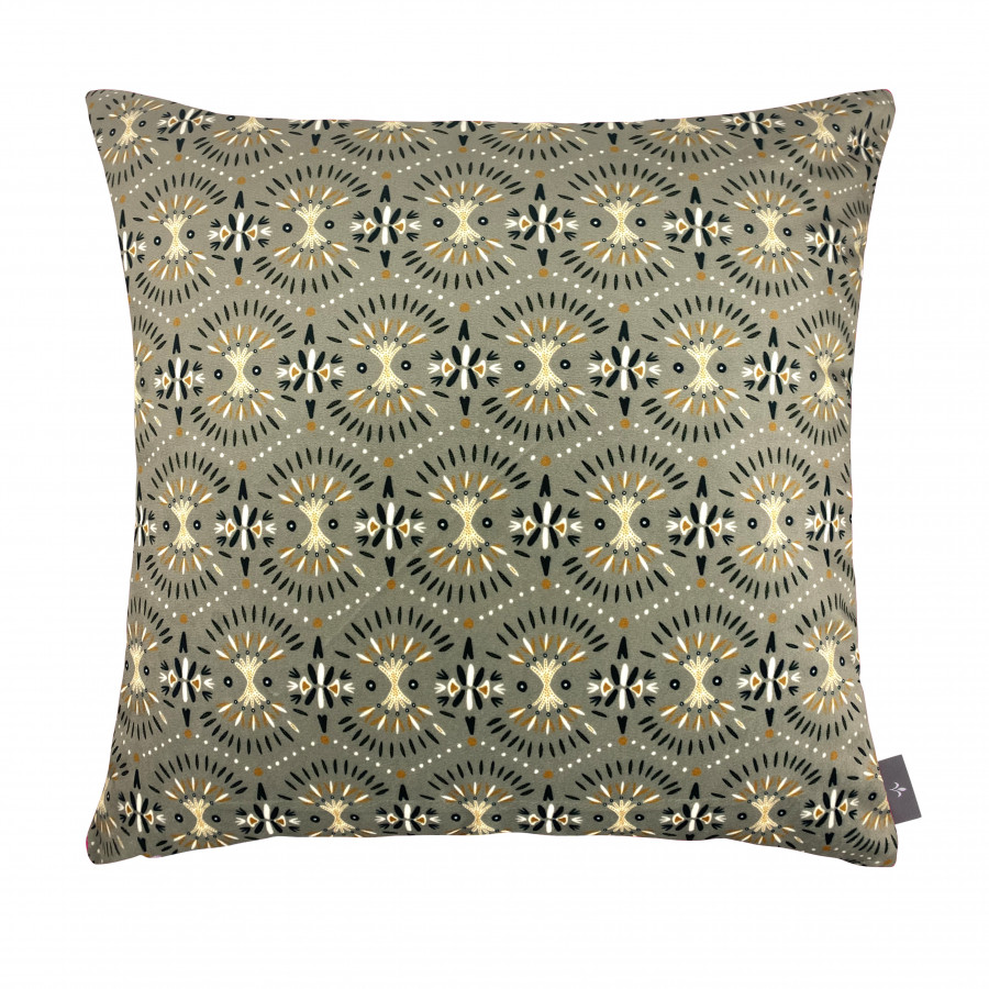 Printed cushion cover Koï fishes