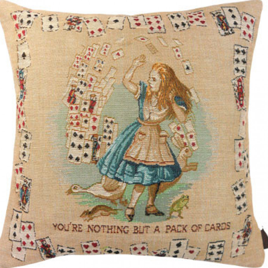 Cushion cover Alice in wonderland