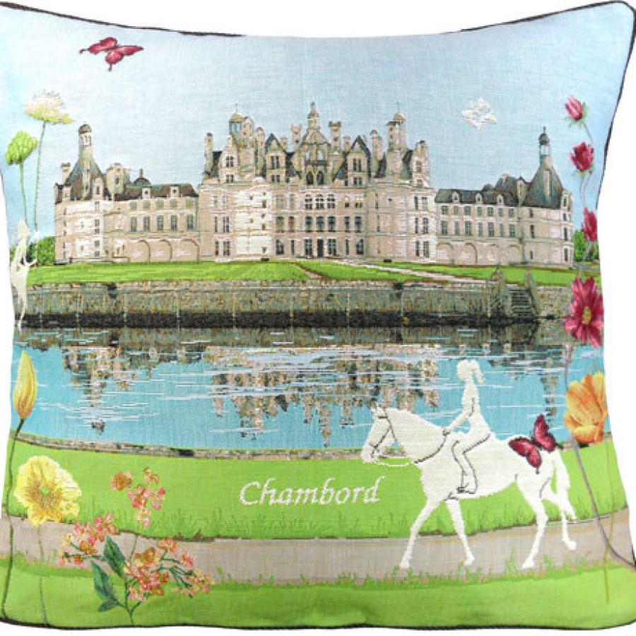 Housse de coussin Château de Chambord