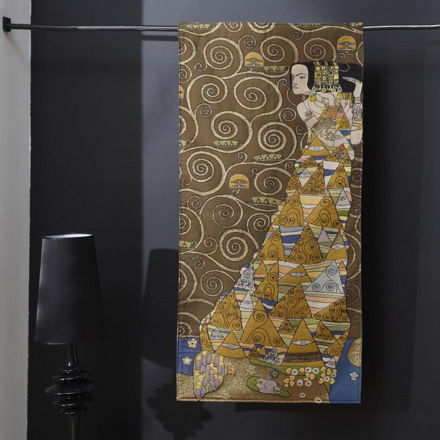 8586C : Lady, from Klimt , light background
