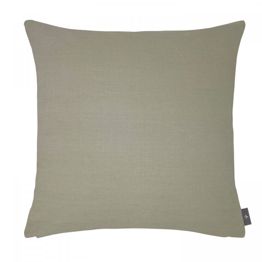 Tapestry cushion cover hibiscus peony