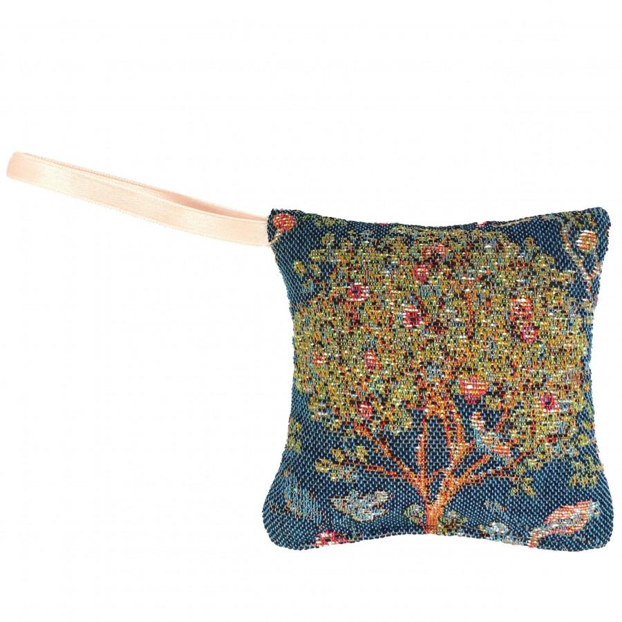 Scented tapestry mini cushion Kelmscott Tree