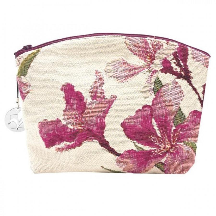 Cosmetic bag laurel flowers