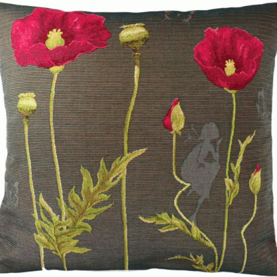 Cushion cover Poppies