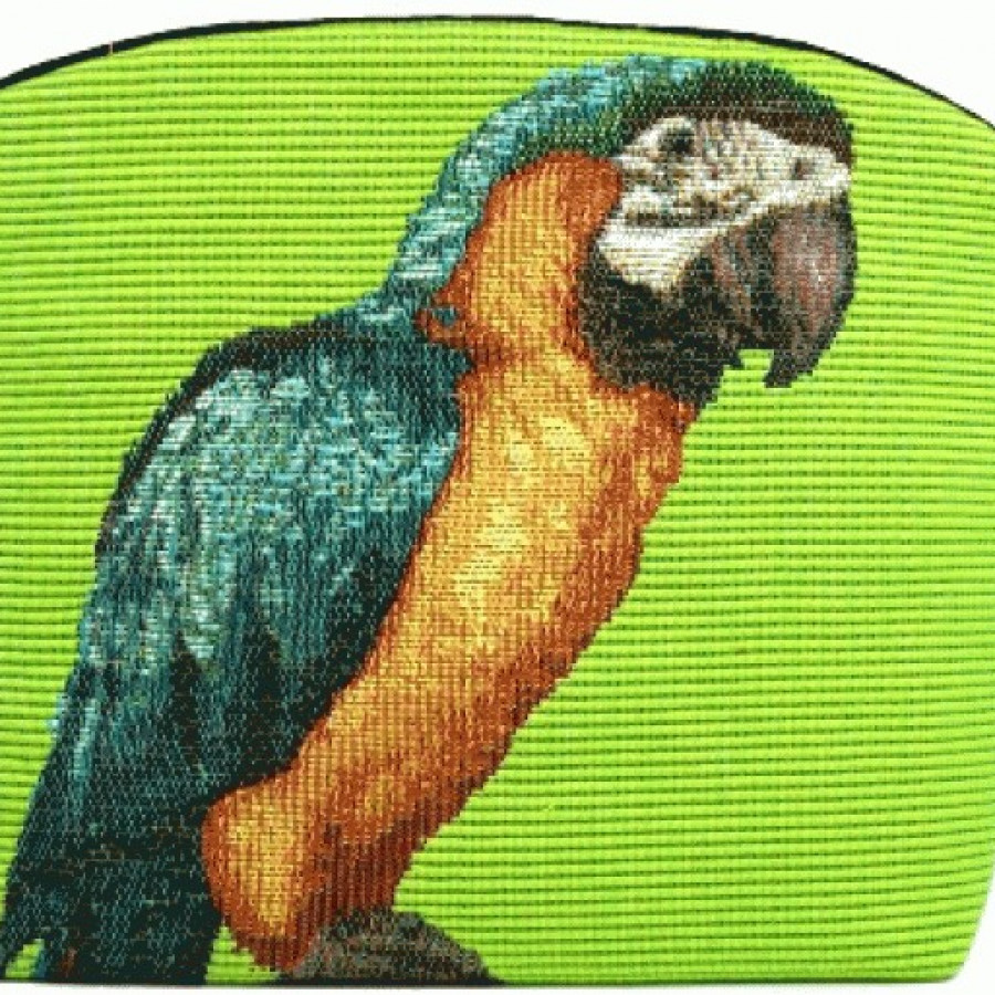 Cosmetic bag Parrot and cockatoos