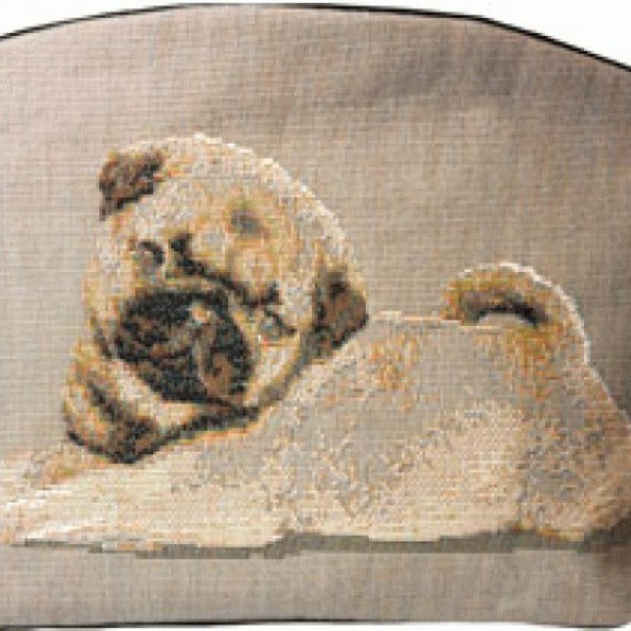 Cosmetic bag Pug dog